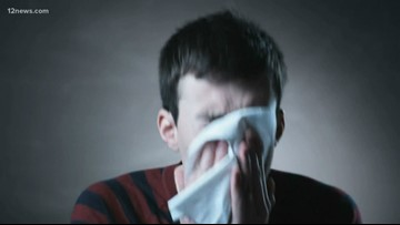 Are cases of flu on the rise in Arizona?