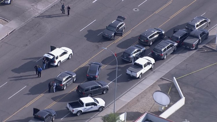 Officer-involved shooting near 43rd Ave. & McDowell Rd