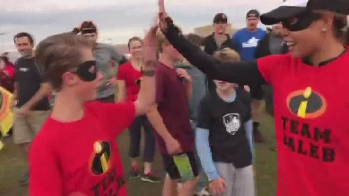 Queen Creek boy with cerebral palsy hits goal of running 1K miles by age 12