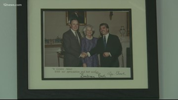 George H.W. Bush's impact on Arizonans