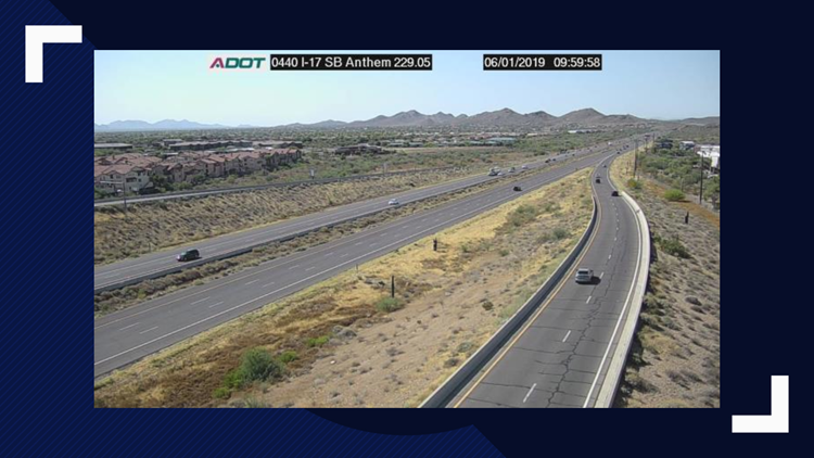 Improvements Coming To Stretch Of I 17 Freeway North Of Phoenix