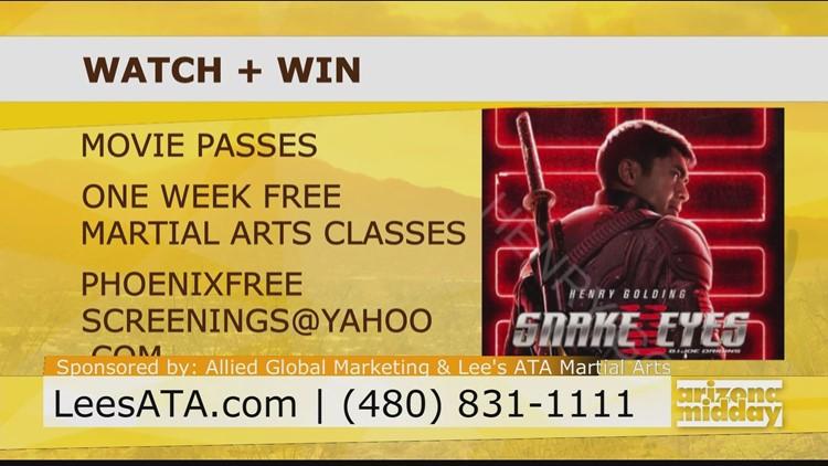 Learn Martial Arts Moves Inspired by Snake Eyes: G.I. Joe Origins