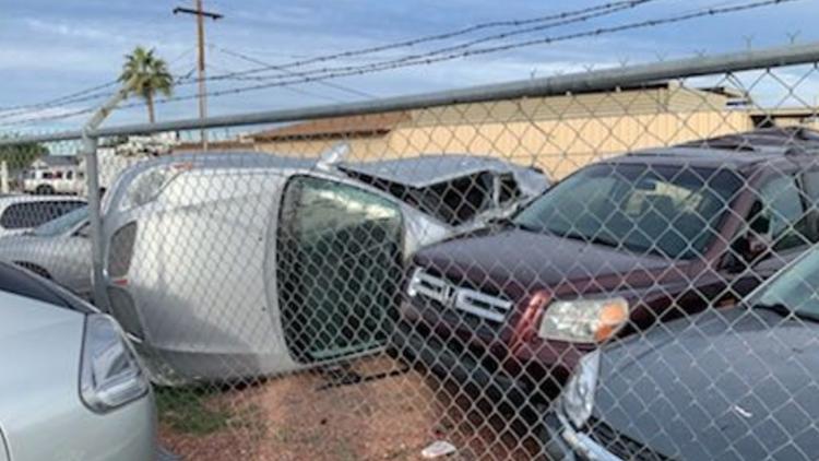cars plane crash
