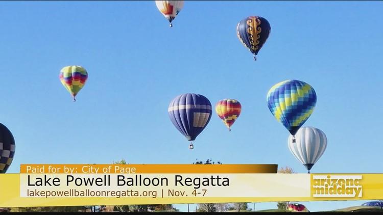 Experience the Lake Powell Balloon Regatta