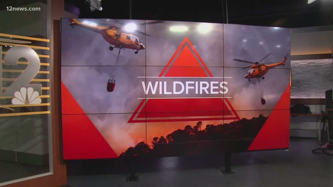 Wildfires in Arizona: Morning update for July 7