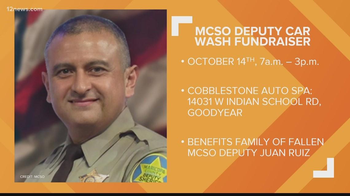 Car wash fundraiser being held for Deputy Juan 'Johnny' Ruiz