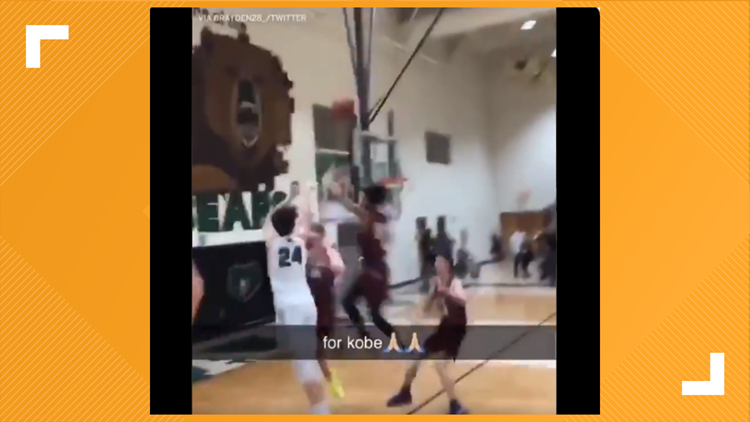 'It was just an unbelievable moment': Basha high basketball player hits game-winning shot in Kobe's number