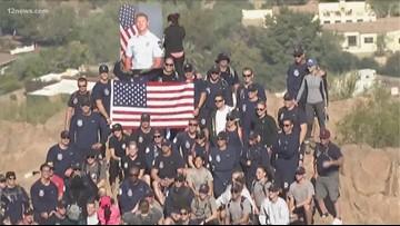 Firefighters hike in memory of fallen Tempe Fire captain
