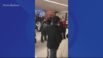 Sky Harbor concourse cleared as police talk to upset passenger