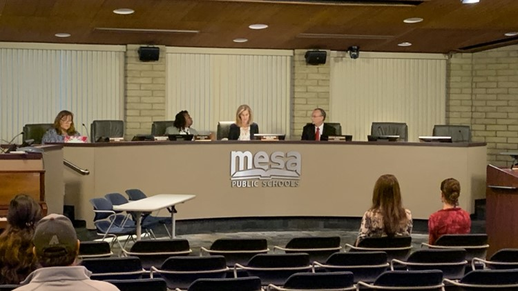 Mesa school distirct meeting