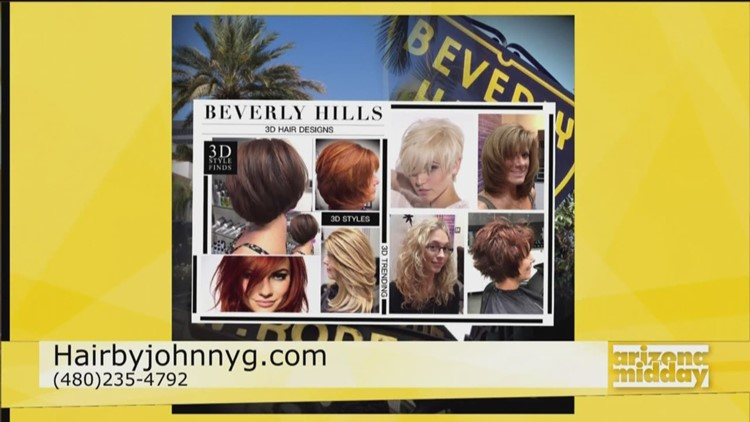 Hair By Johnny G Brings 3d Hair Color To The Valley 12news