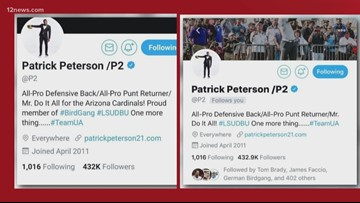 Why Patrick Peterson was upset with Arizona Cardinals, posting on Instagram