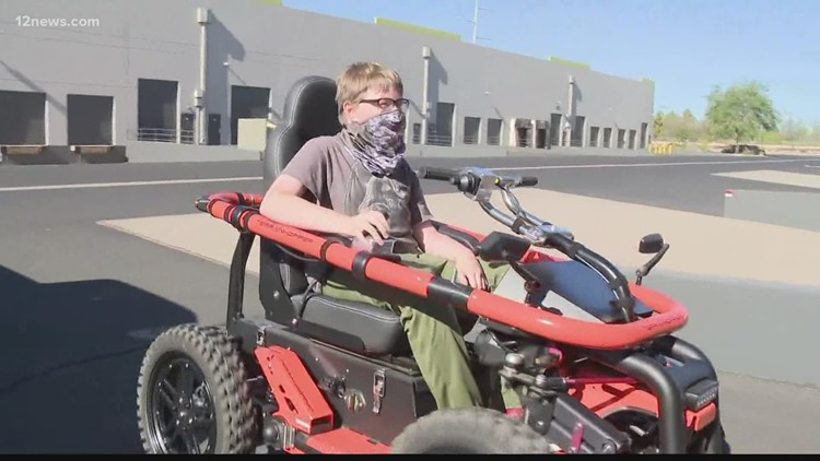 Make-A-Wish Foundation and Tempe company give local boy new wheels