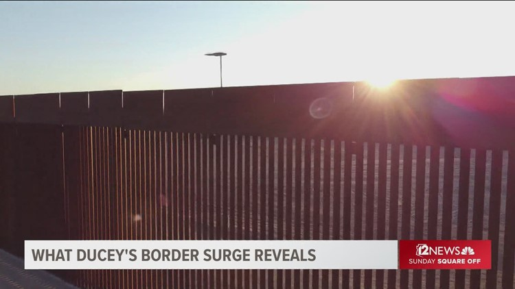 What is Ducey doing on the border