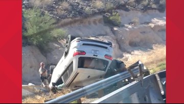 3 people killed in 8 car crashes in 1 weekend in the Valley