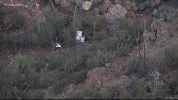 Small plane crashed Southwest of Payson