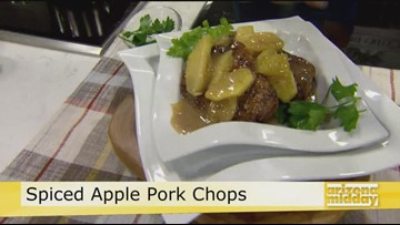 Jan's Pan Seared Apple Pork Chop