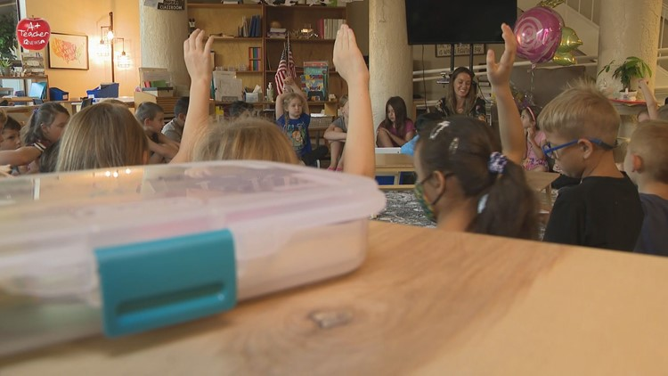 12 News A+ Teacher of the Week: Cassie Arias from Montessori School