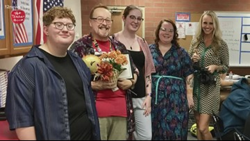 A+ Teacher of the Week: Christopher Brown at Dysart High School