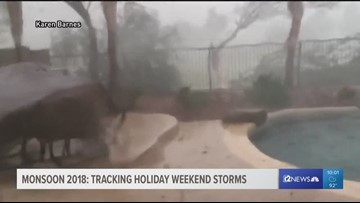Tracking Labor Day weekend storms