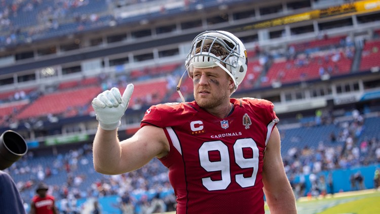 J.J. Watt excited for first home game as an Arizona Cardinal