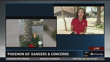 'Pokemon Go' dangers & concerns