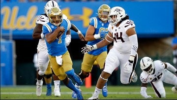 Kelley has career-high 4 TDs, UCLA beats No. 24 Arizona St.
