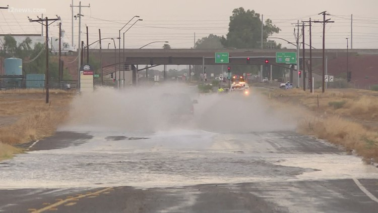 Large parts of Arizona get first taste of monsoon 2020, but Phoenix stays dry