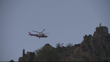 Hiker injured after fall on Piestewa Peak