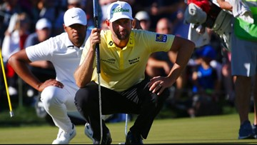 Simpson rallies to beat Finau in Phoenix Open playoff