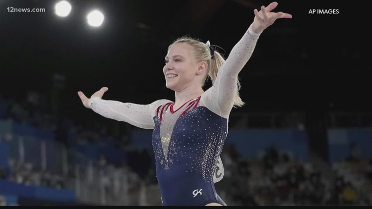 After winning gold in Tokyo Olympic gymnast Jade Carey is off to college