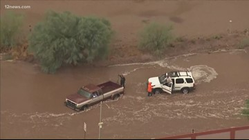 Multiple water rescues take place across the Valley