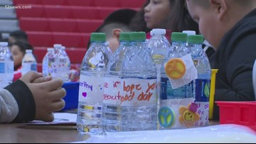 Greenfield Elementary students celebrate MLK Day with a project that helps the homeless