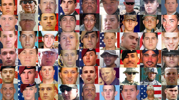 Remembering the 54 Arizonans who died during Operation Enduring Freedom in Afghanistan