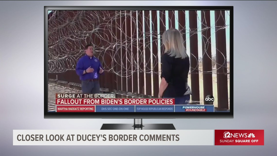 What Ducey got right or wrong in his border comments