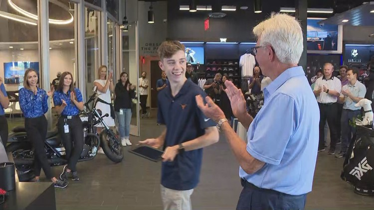 PXG wish granted to Make-A-Wish teen with rare heart condition