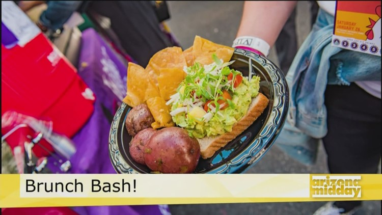 Buckets of mimosas and your favorite brunch eats at the Brunch Bash!
