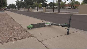 'Scottsdale Scooter Vigilante' picking up discarded e-scooters