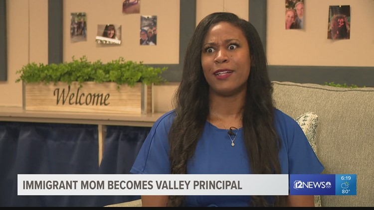 Valley mom becomes principal at same Mesa elementary school she attended