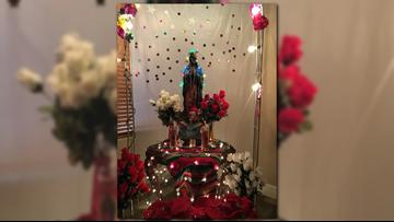Celebrando las apariciones de la Virgen de Guadalupe