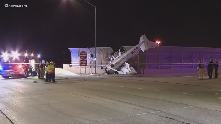 Woman hospitalized after small plane crashes near Loop 202 in Chandler