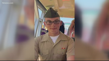 Valley family searching for missing Marine