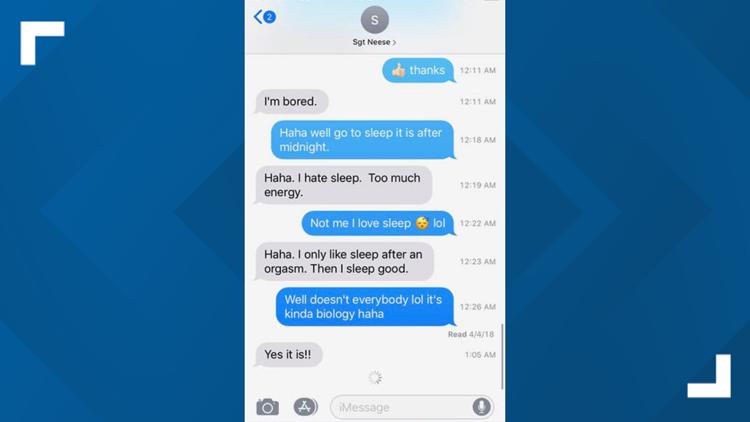 mesa sexual harassment texts cook