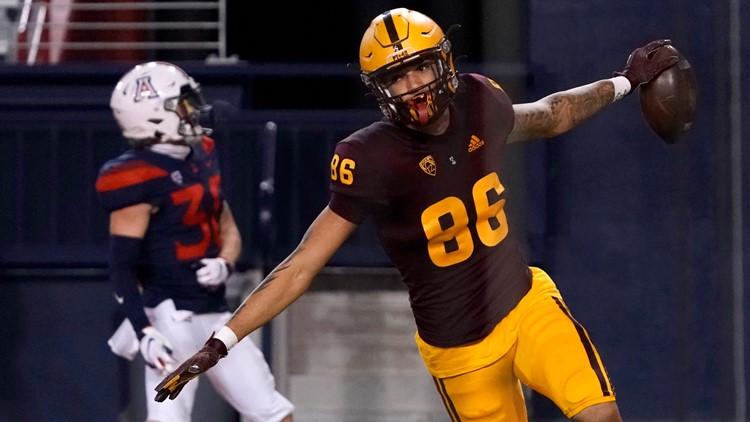 Territorial rout: Arizona State blows out rival Arizona 70-7