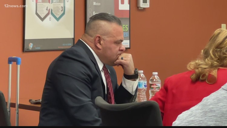 Former Goodyear SWAT lieutenant loses appeal to get his job back