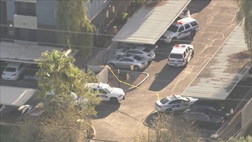 2 men shot, killed after alleged attempted robbery at Phoenix apartment complex