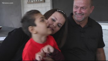 Wednesday's Child: D'Angelo finds his forever home