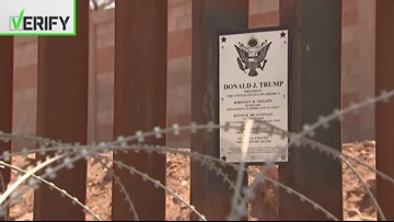 Verify: Where does Trump stand on his promise for a wall on the U.S.-Mexico border?