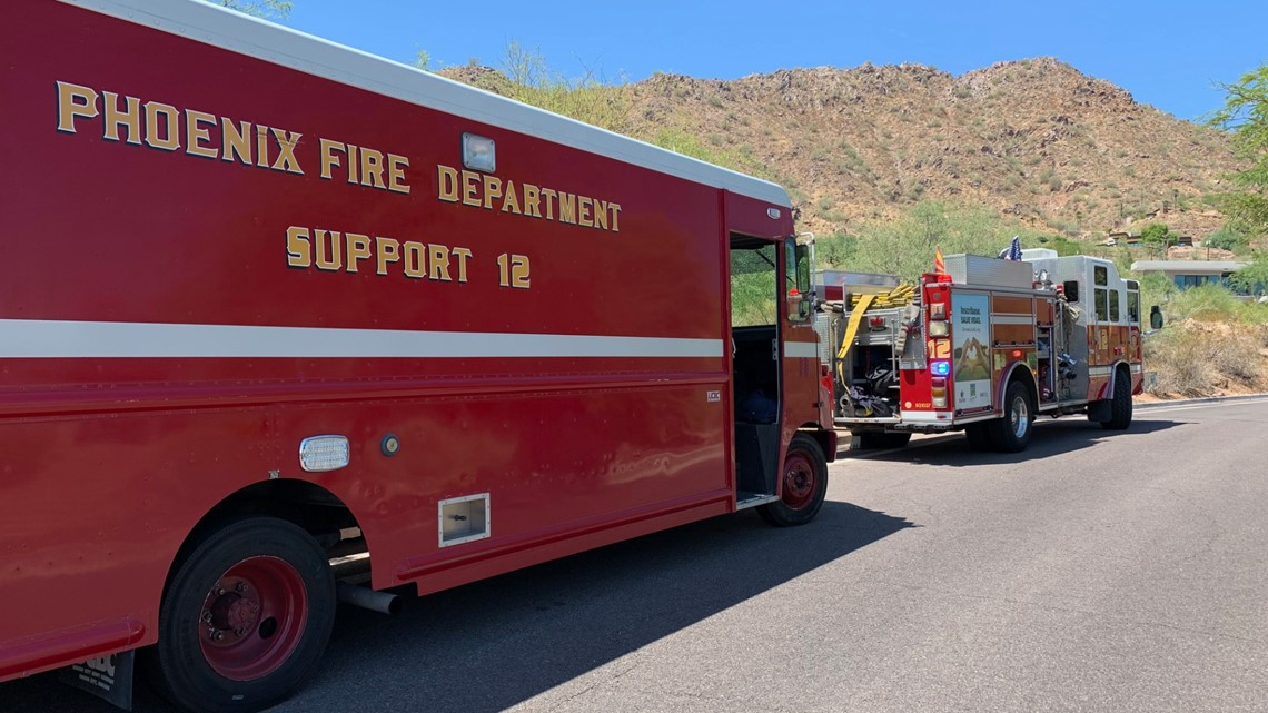 Hikers rescued from Phoenix mountains as officials urge caution in the heat