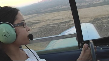 World's first armless pilot taking to the Valley sky